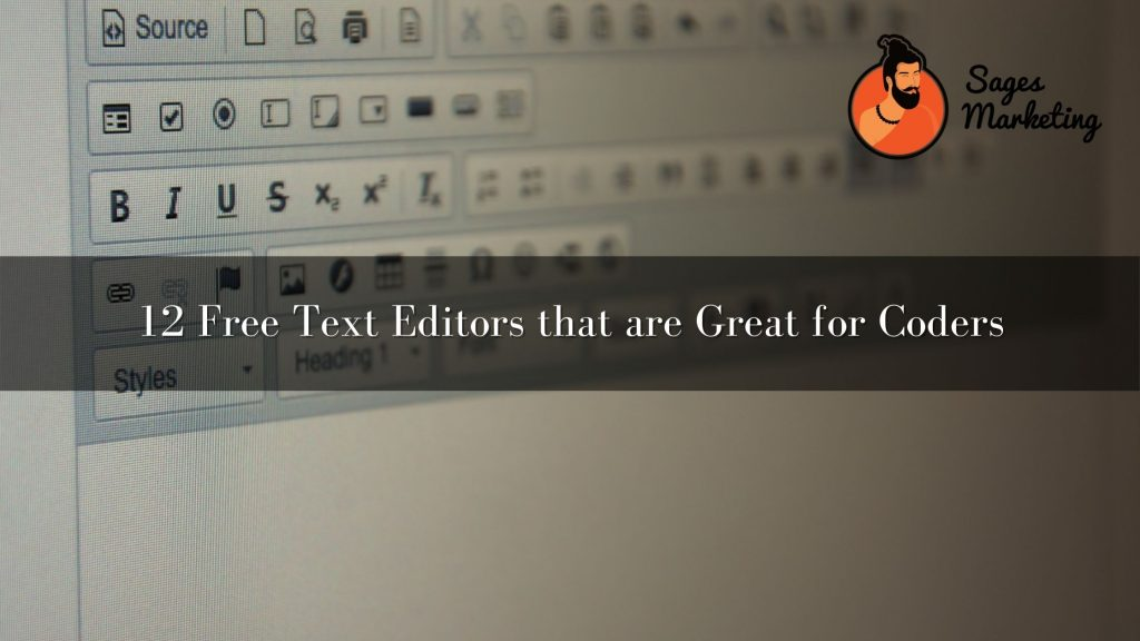 12 Free Text Editors that are Great for Coders