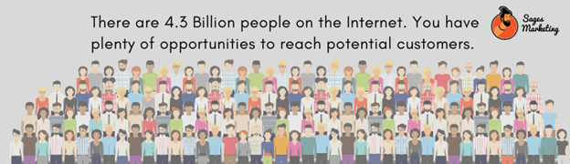 4.3 billion people are shopping online