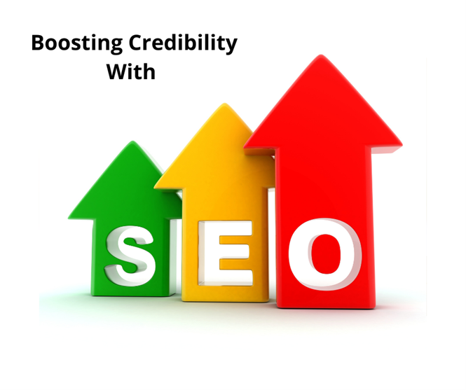 How else can SEO boost credibility