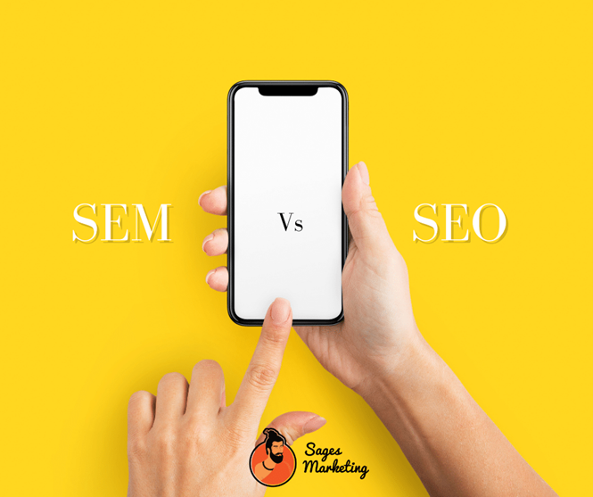 SEM vs. SEO: The Difference Between The Two