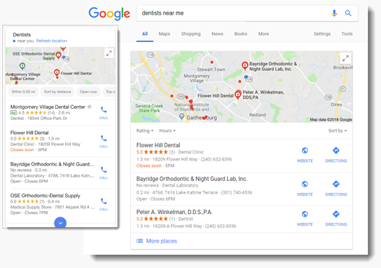 Update and optimize your Google My Business page