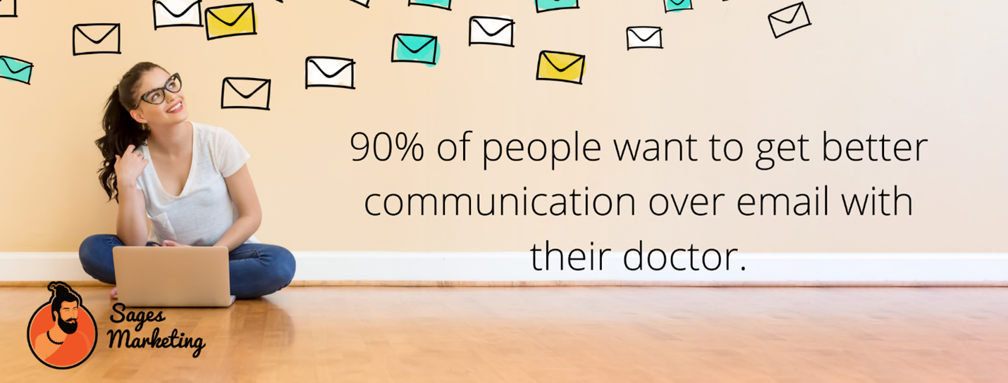 Use email marketing to stay ahead with patients