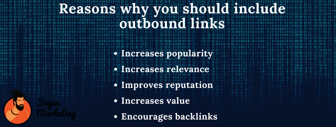Why are outbound links important