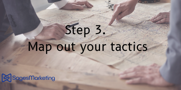 Step 3 Map out your tactics